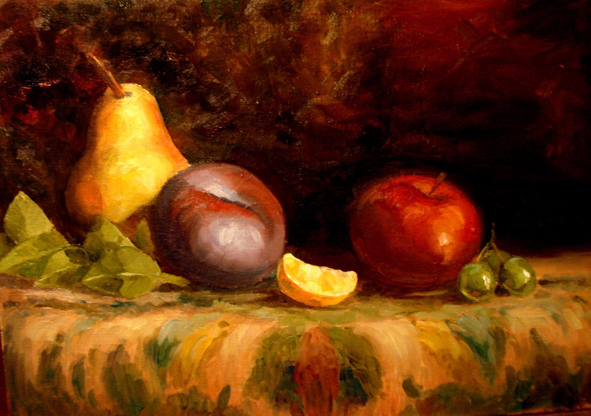 курсы мастер-класс краска рисование живопись масляная