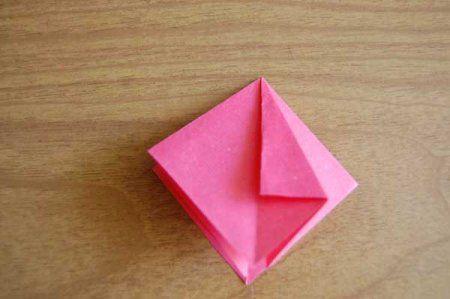 Оригами из бумаги цветы 15