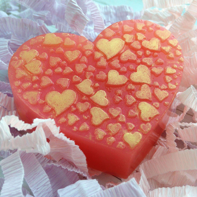 handmade деньвлюбленных мылоручнойработы мыло подарок