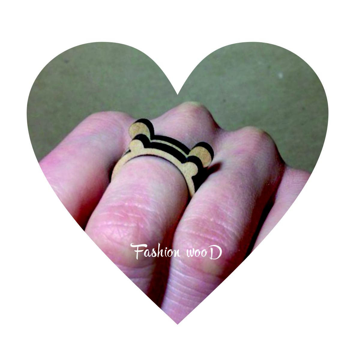 деревянноекольцо сюрприз 14февраля fashionwood кольцо радость подарок