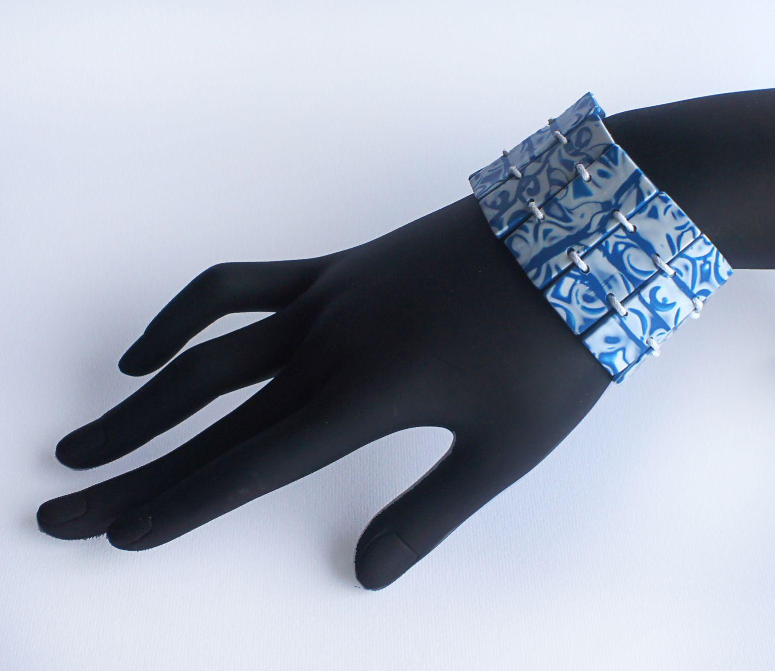 глина аксуссуар мастеркласс украшение браслет полимерная бижутерия