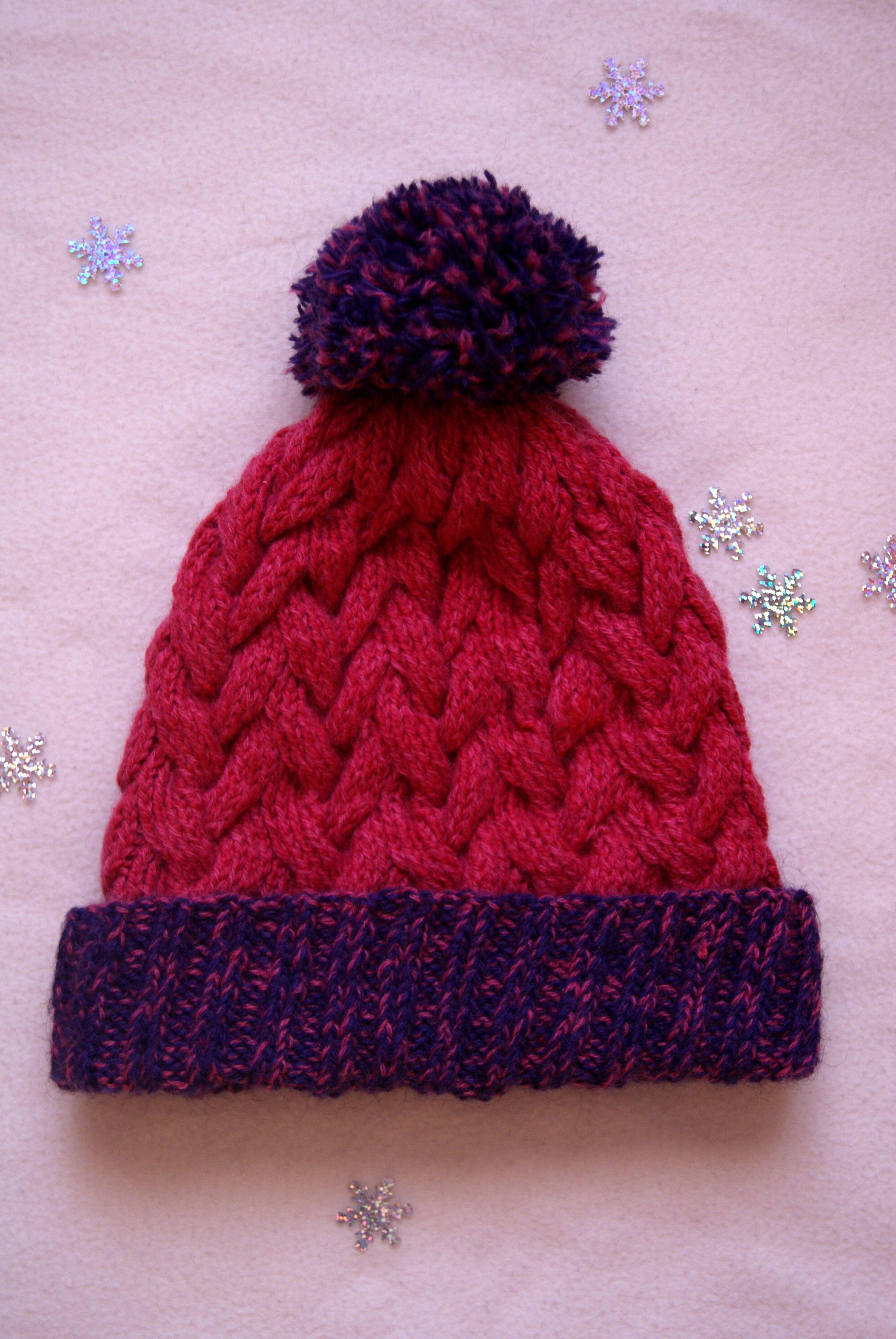косы вязанаяшапка вязание зима teplorukami узоркосы уют шапка тепло вяжуназаказ вяжутнетолькобабушки вязаниеназаказ