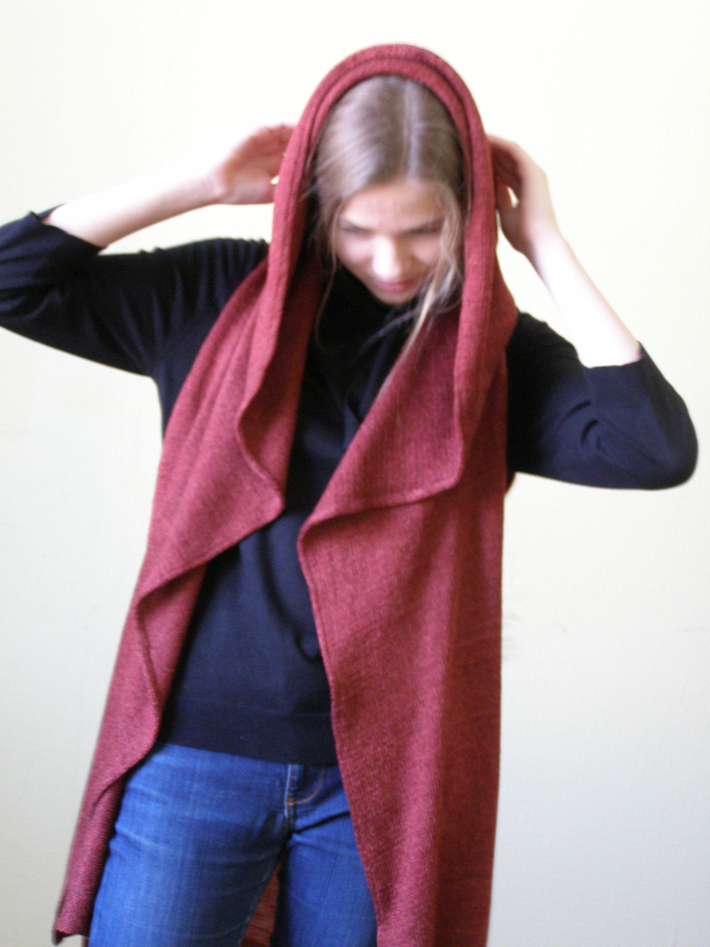 трикотаж хит лен капюшон комбинированые верхняя  одежда жилет материалы машинное вязаный вязание женская жилетка