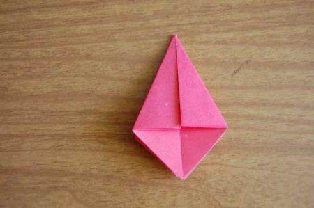 Оригами из бумаги цветы 19