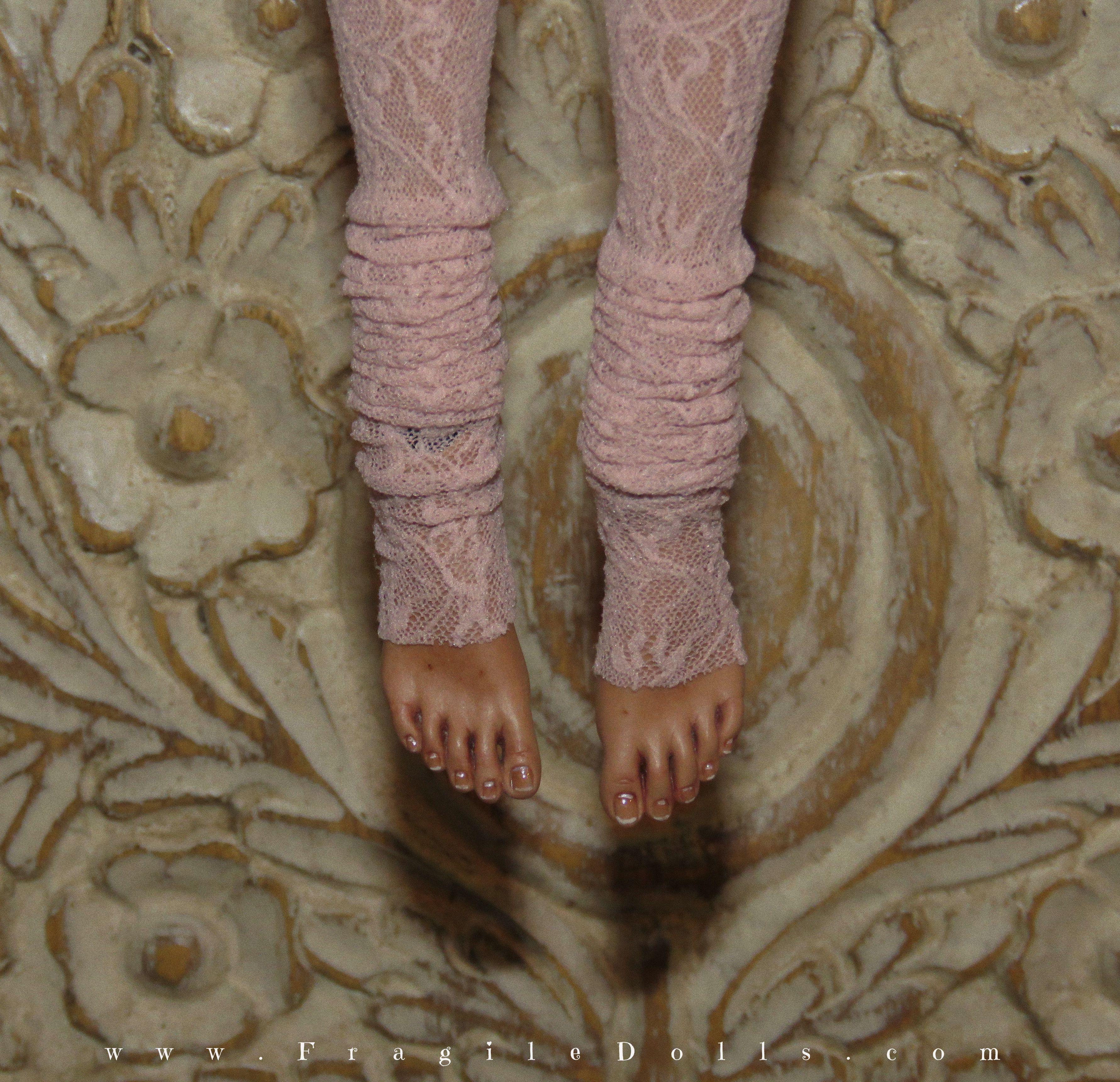 porcelain caramel art doll joodella pepe bjd fragiledolls