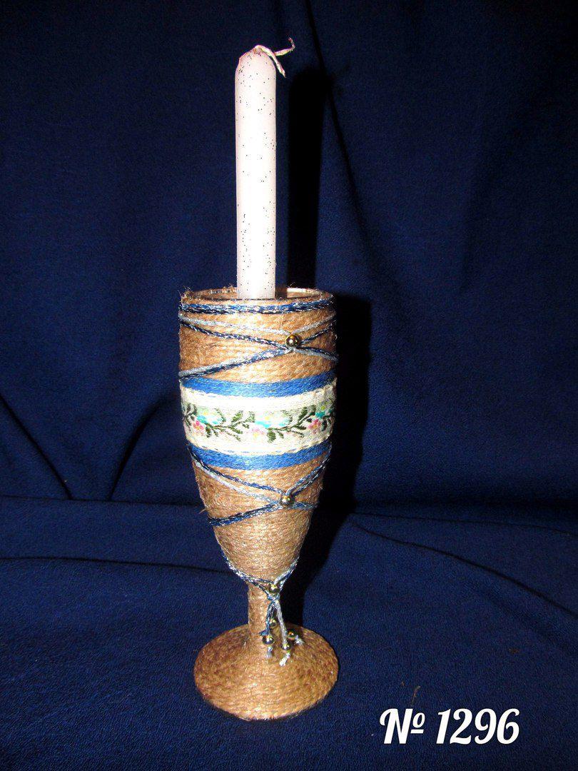 ручная работа подсвечник свеча