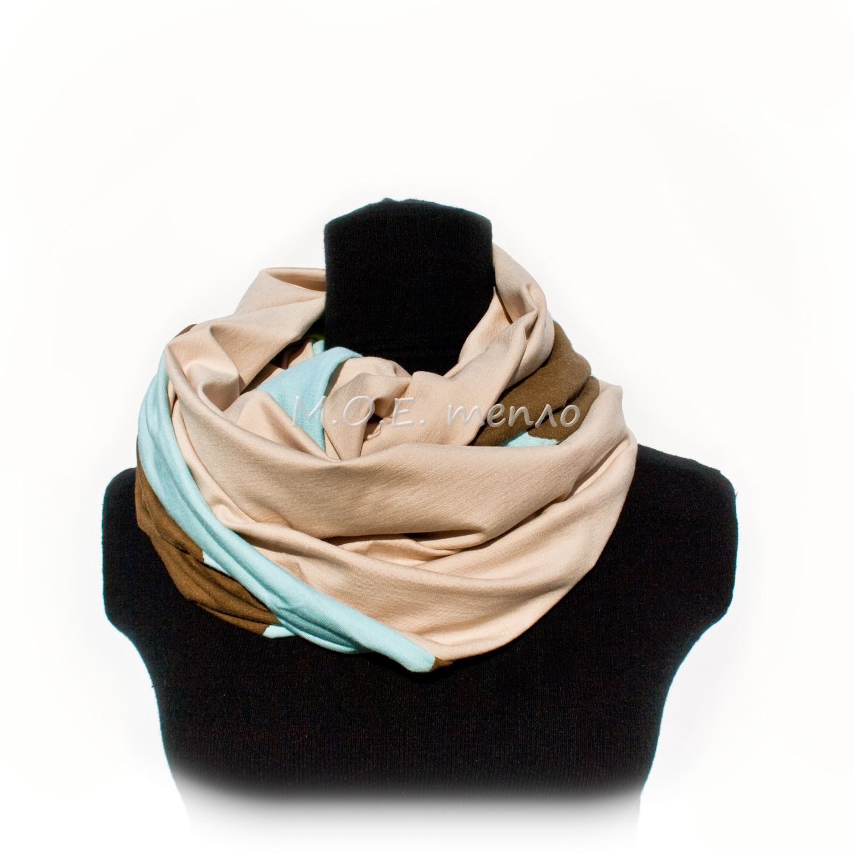 шапки шарфы моетепло снуды торжественно элегантно снуд двойныеснуды модно стильно шапка круг тепло аксессуары голубой желтый аксессуар шарф женственно красиво