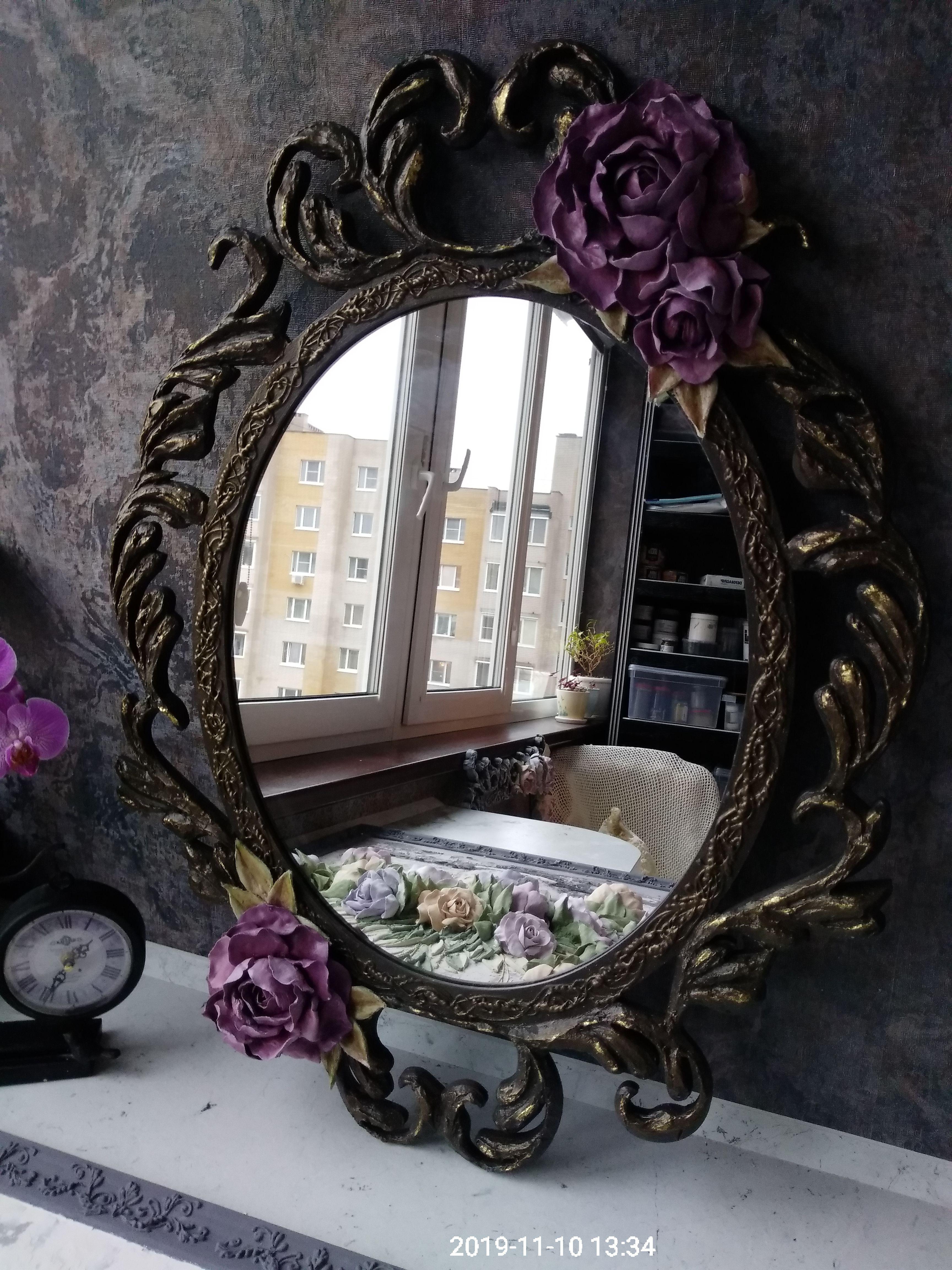 гостиная подарок зеркало интерьер дом