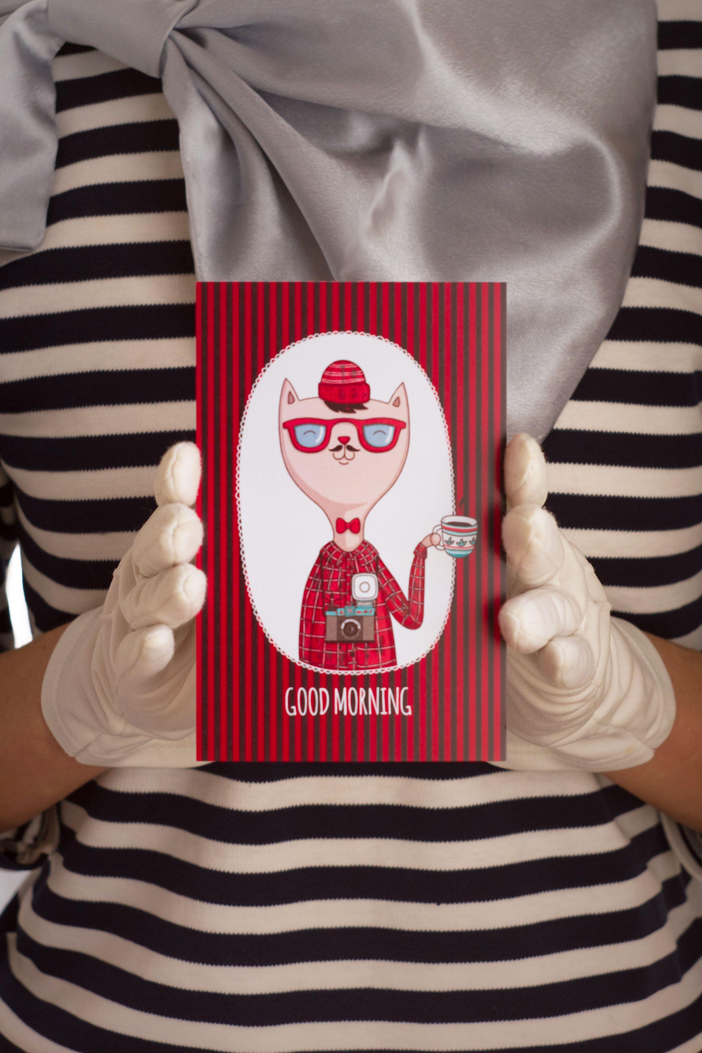 знаквнимания сюрприз goodmorning открытка подарок