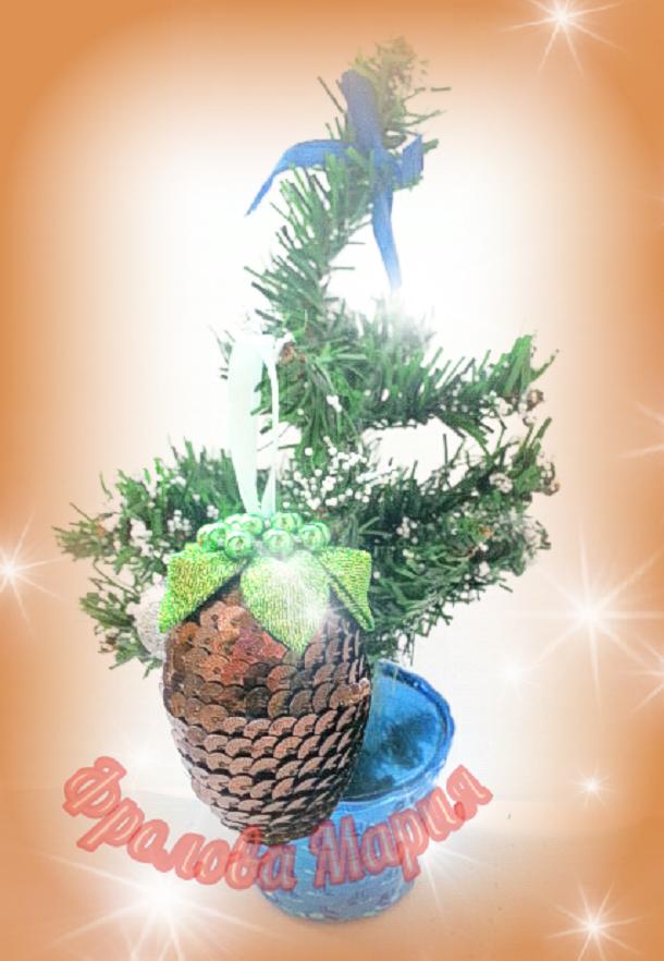 красноярск 2017 мороз канзаши украшения новый handmade елка праздник новогодние дед на год подарок