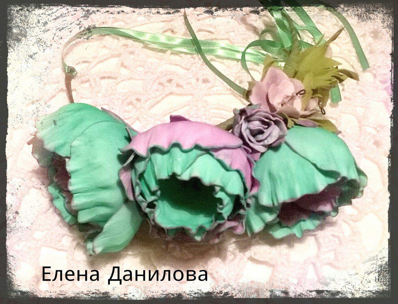 цветами волос цветочный ободок для аксессуар с
