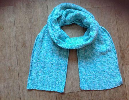 вязаниеназаказ вязаниеспицами шарф шарфспицами шарфскосами вязание шарфженский
