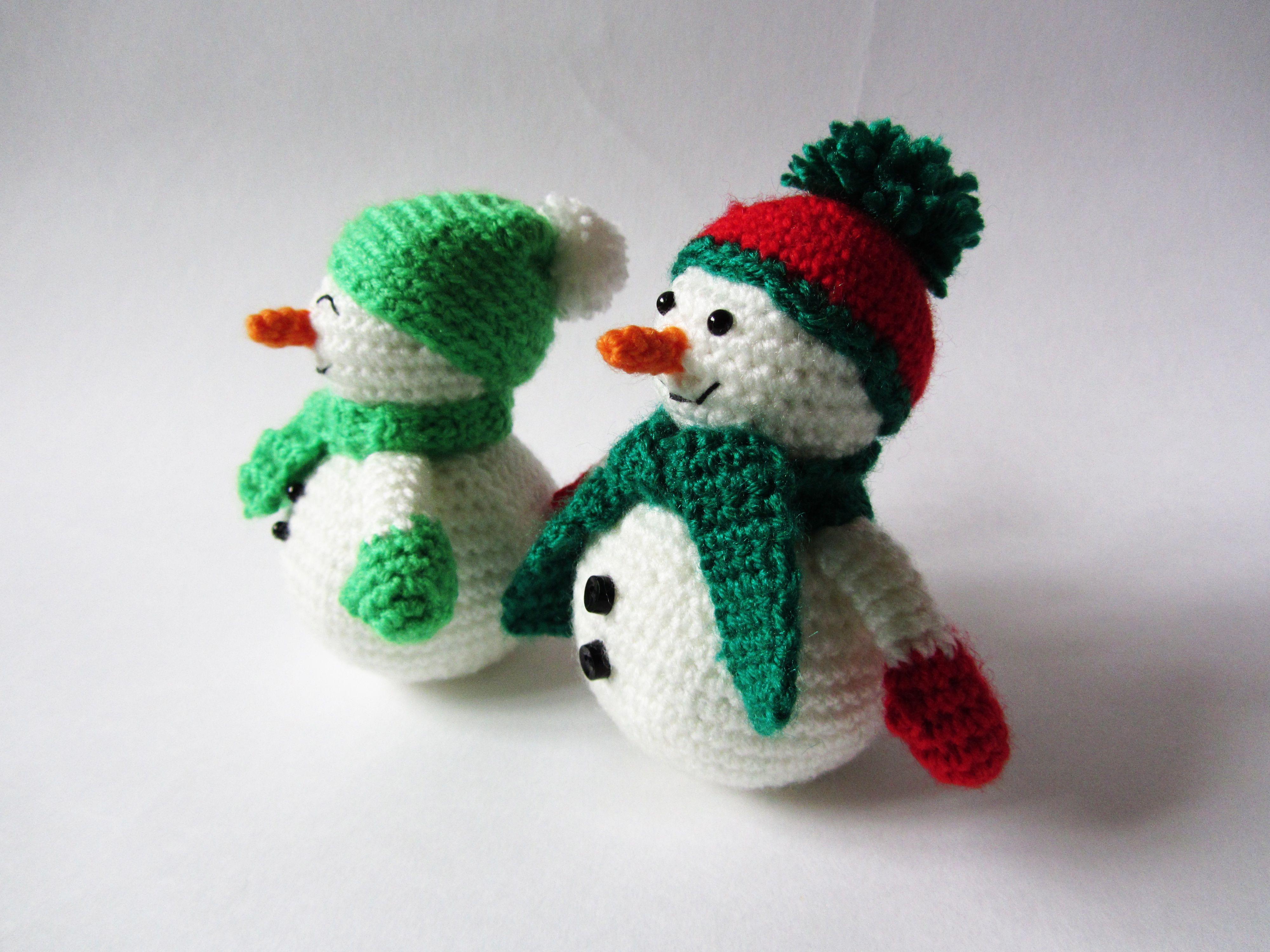вязаная снеговик игрушка зима новыйгод ручнаяработа подарок