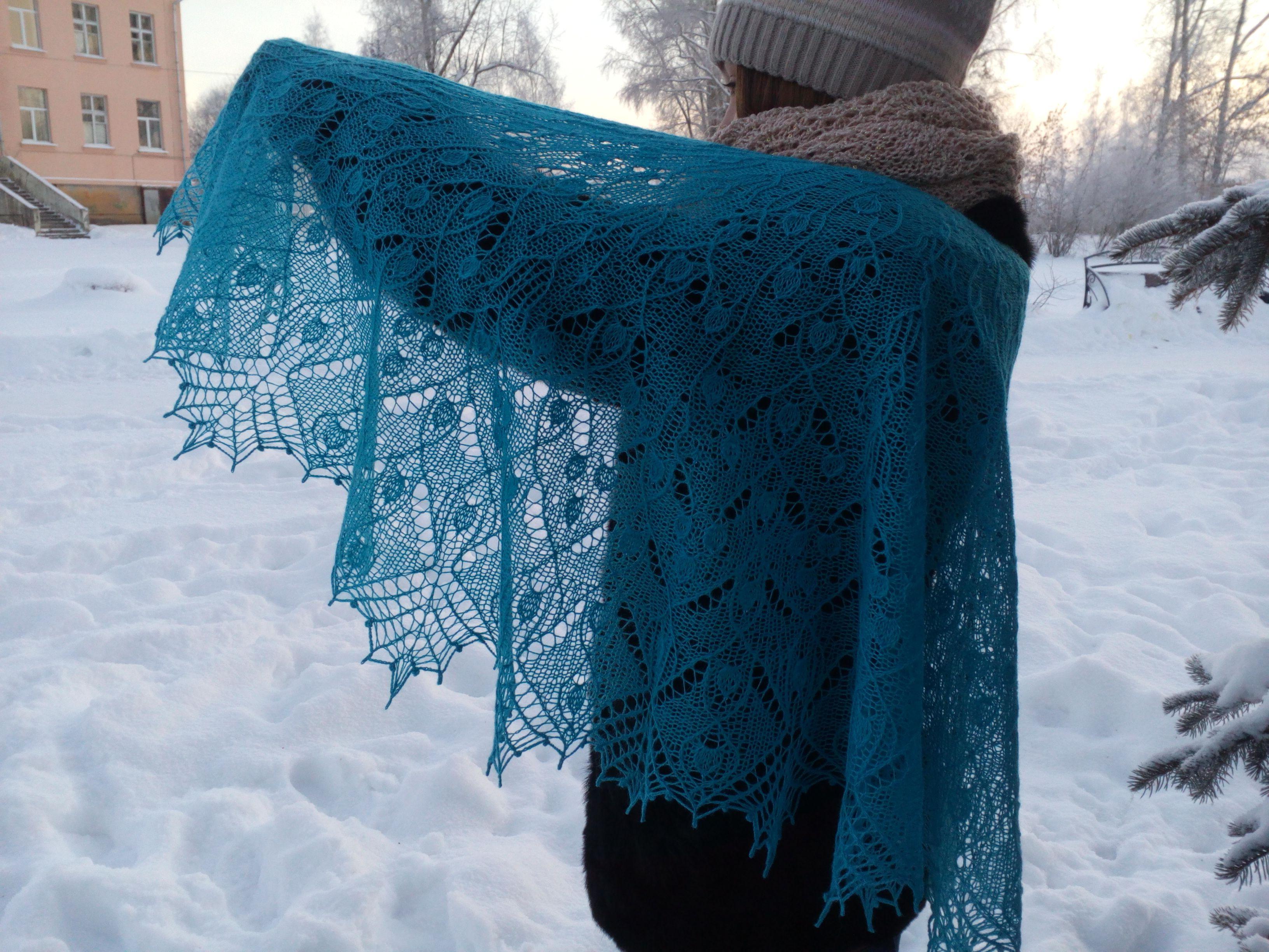 платок подарок купить теплая шерсть хаапсалу меринос шаль