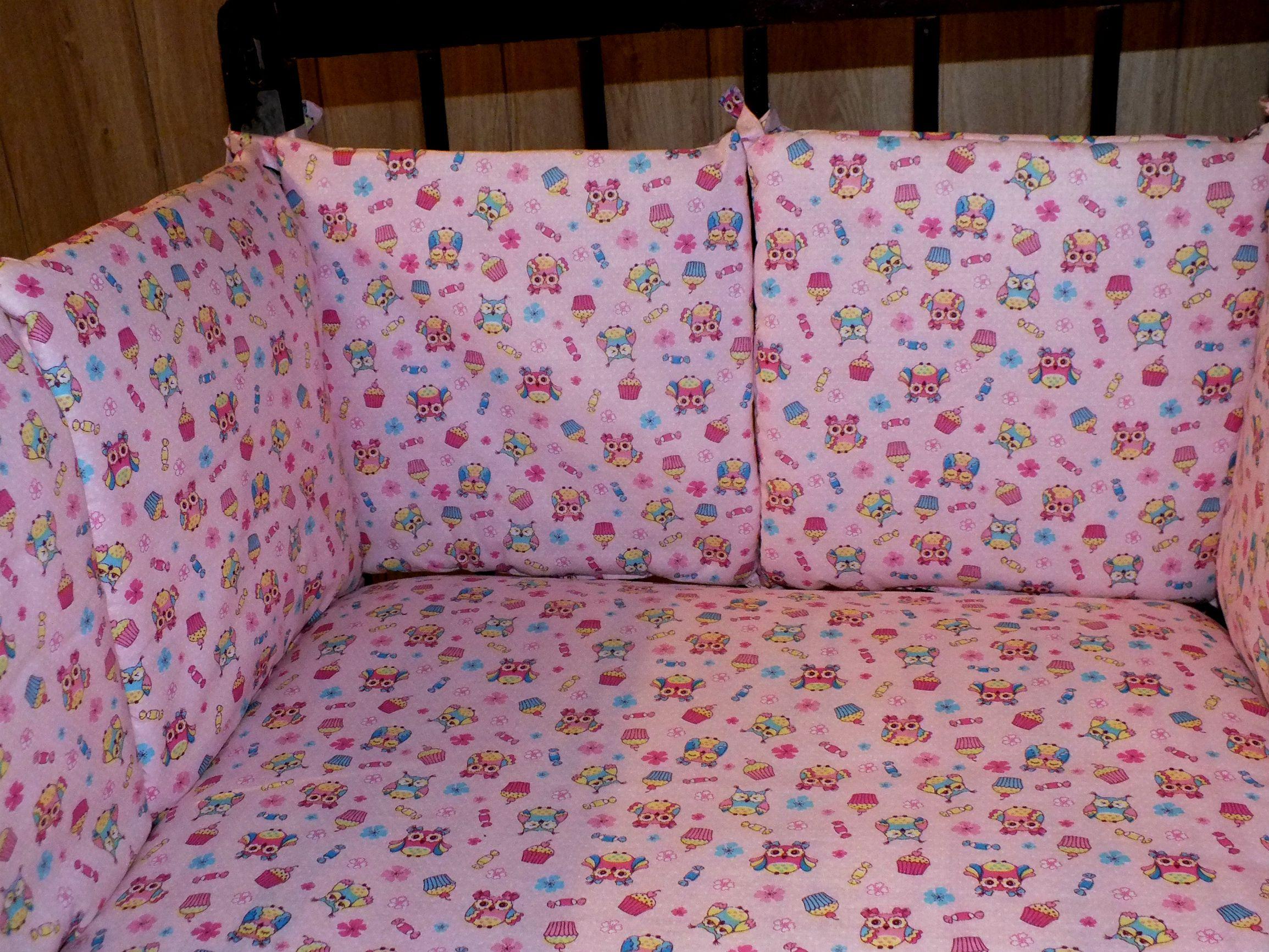 в подушечки шитье кроватку бортики дети подушки