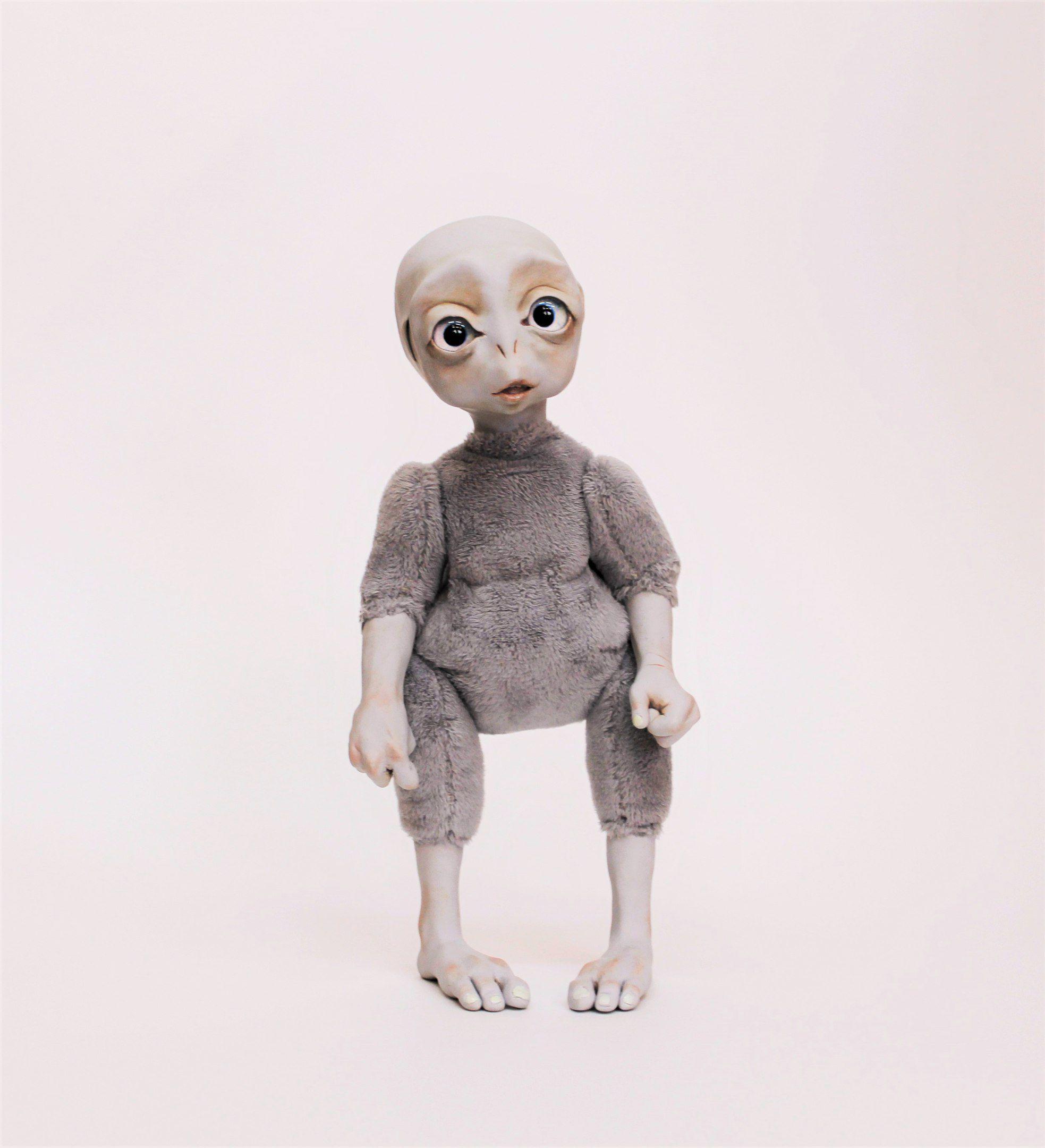 пришелец кукла работа ручная инопланетянин