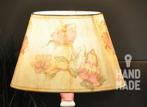 лампа руками своими