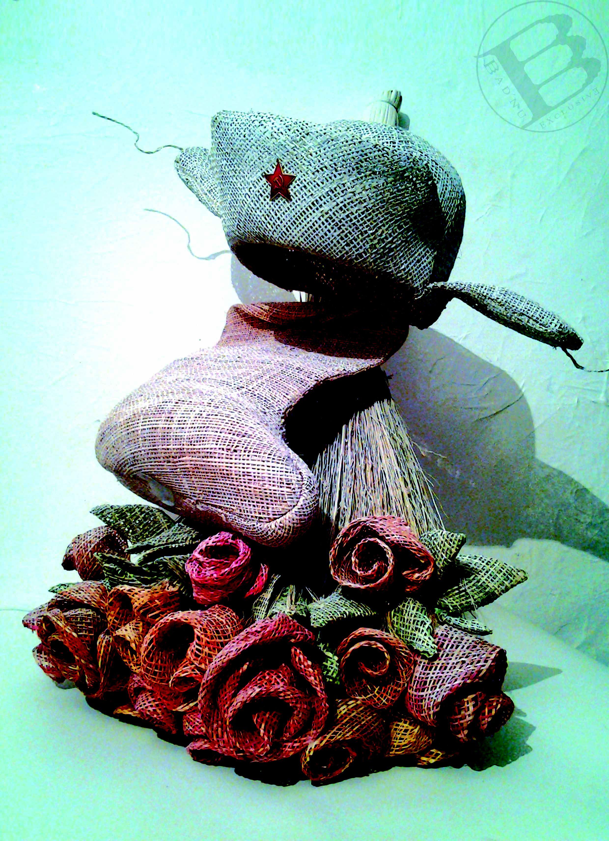 веник подарок валенки искуство шапка сувенир цветы презент