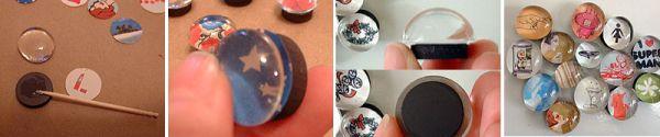 Как сделать акриловый магнитик в домашних условиях
