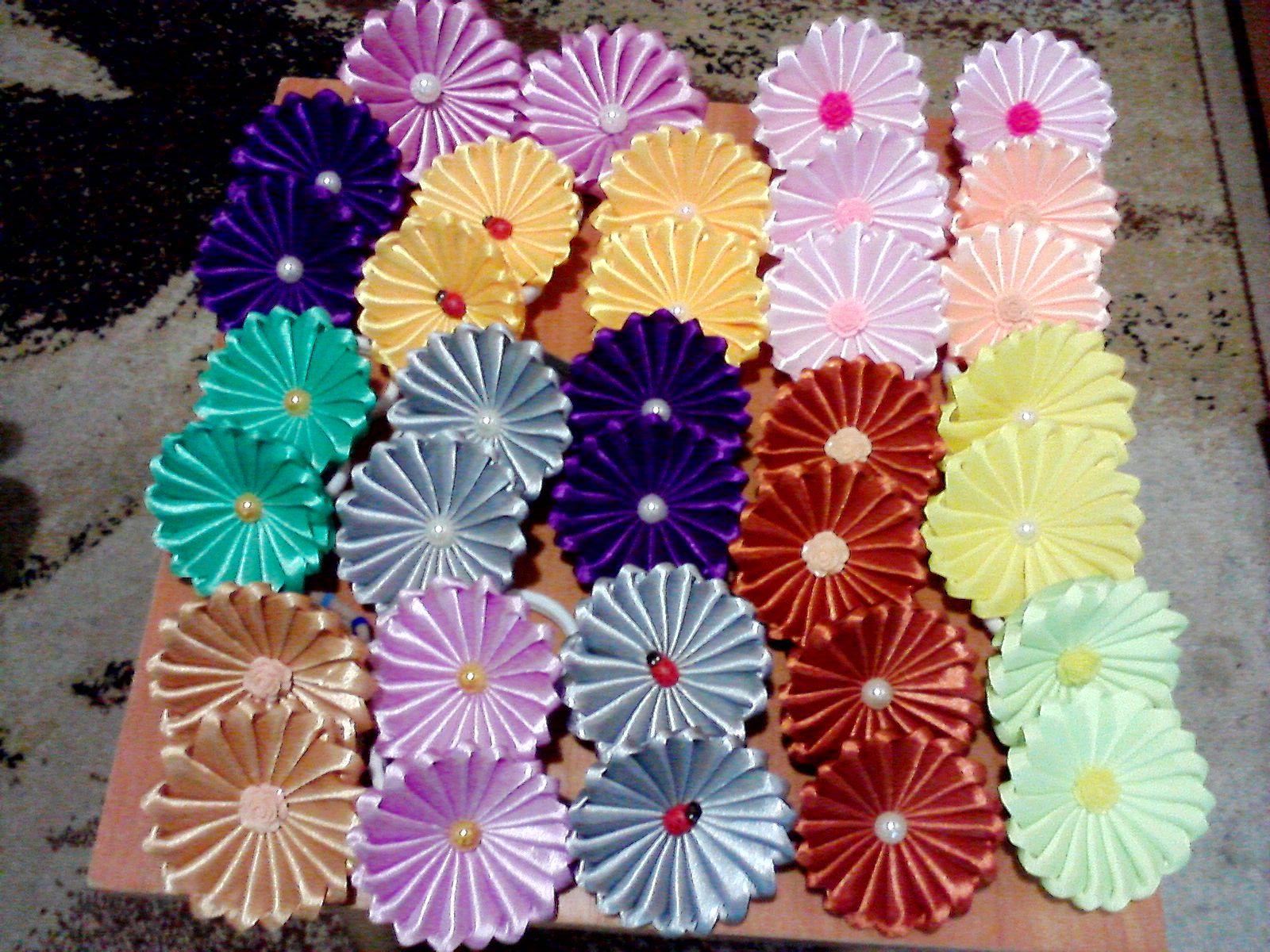 девочкам подарок на праздник бантики ручной работы и в