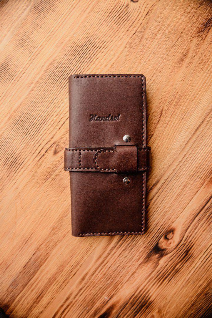 кожа кошелек портмоне работа ручная