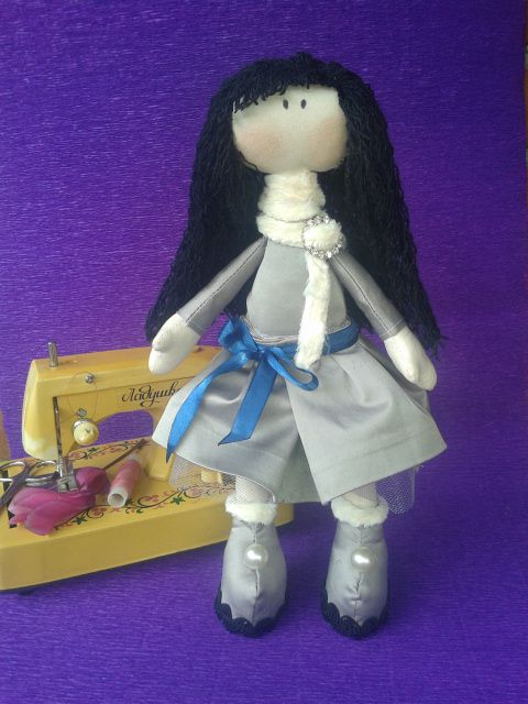 кукла ручная работа текстильная