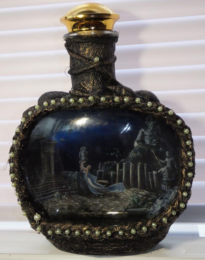 подарок бутылка графин украшение интерьер