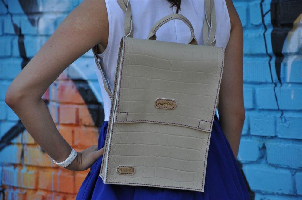 кожа работа ручная рюкзак сумка портфель