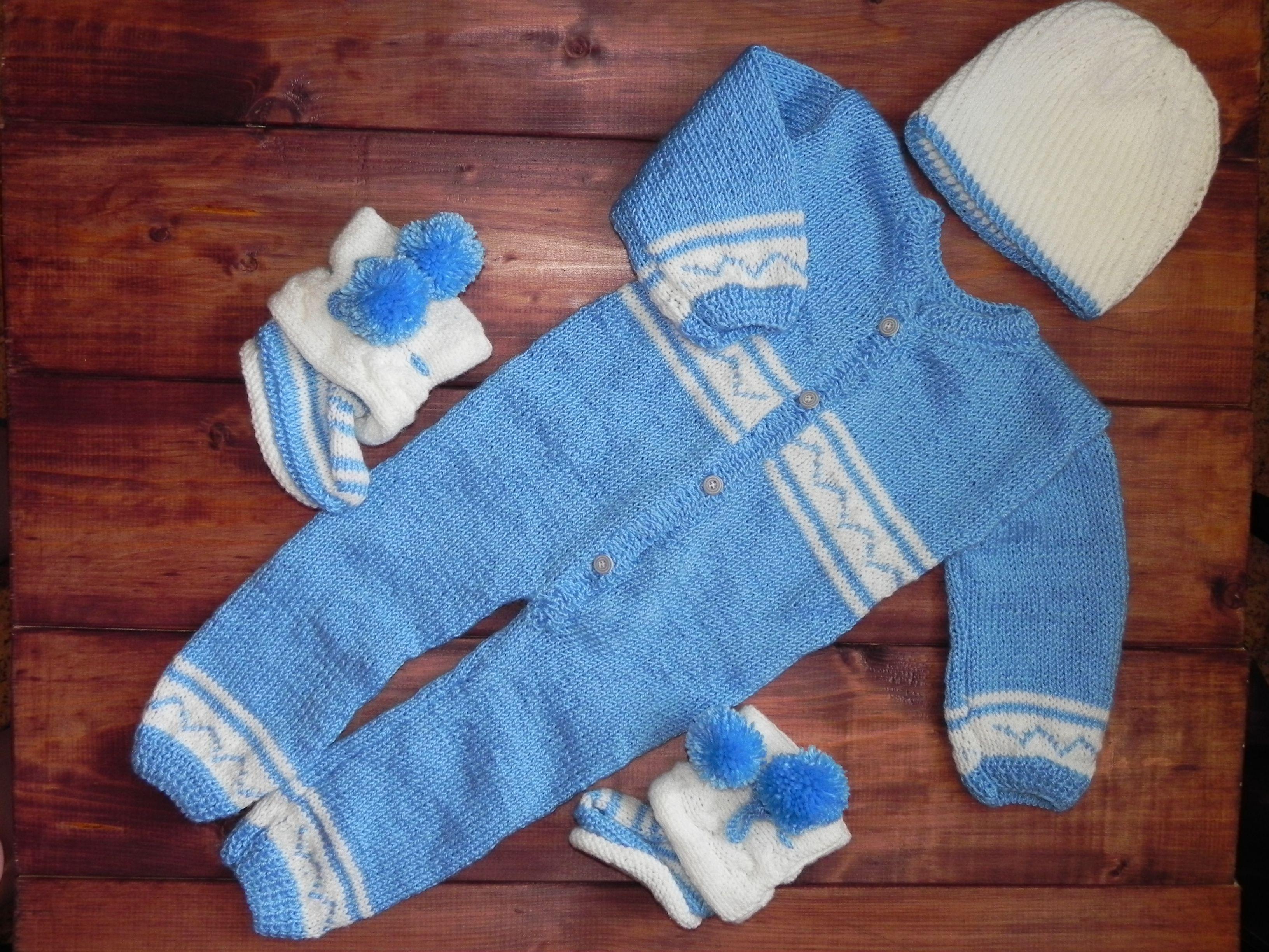 хороший вещи детские вязание детям шапочка пинетки детский комплект на заказ вяжу комбинезон подарок
