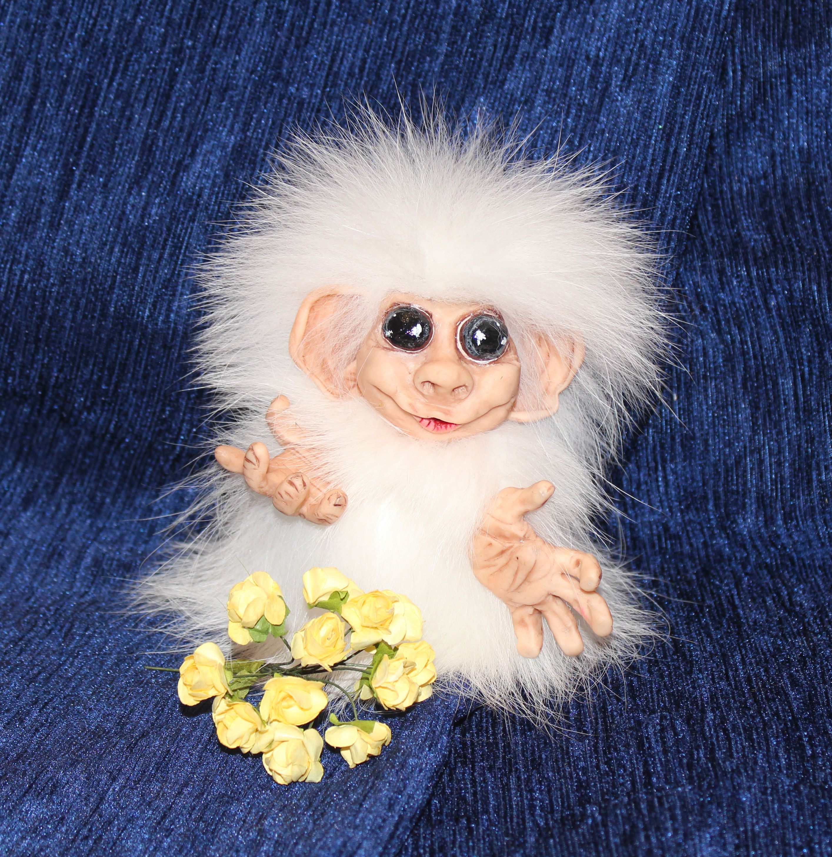 авторскаяработа подарок ручная символ2016года забавнаяигрушка обезьянка полимернаяглина