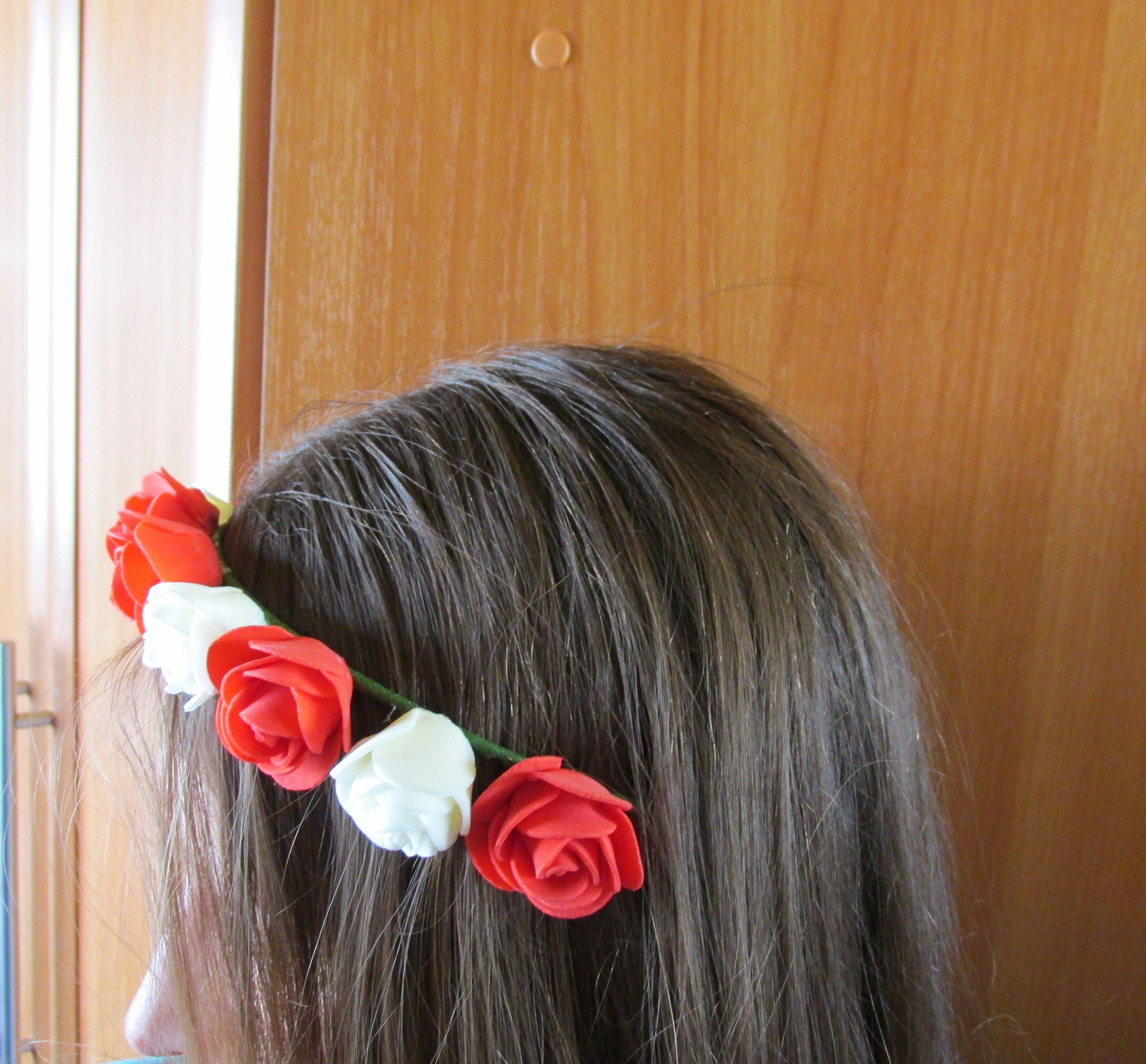 лента искусственные женщины девушки украшение ободок заказ венок цветы лето