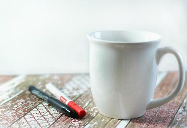 подарки на роспись руками своими день по чашка стеклу валентина святого кружка керамике кружке и