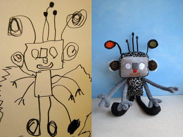 игрушка рисунок детям подарок оригинальный