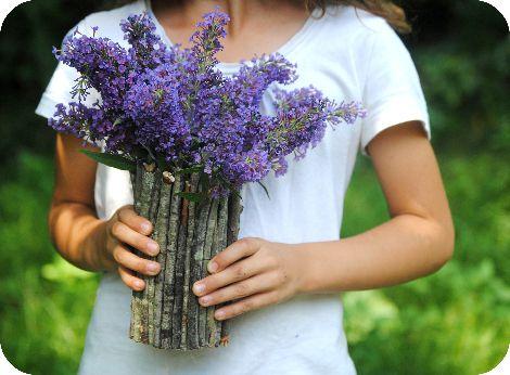 сделайсам декор ваза креатив своимируками вазаизпалочек декордлядома эковаза экостиль идеядлядома деревянныеподелки прутики