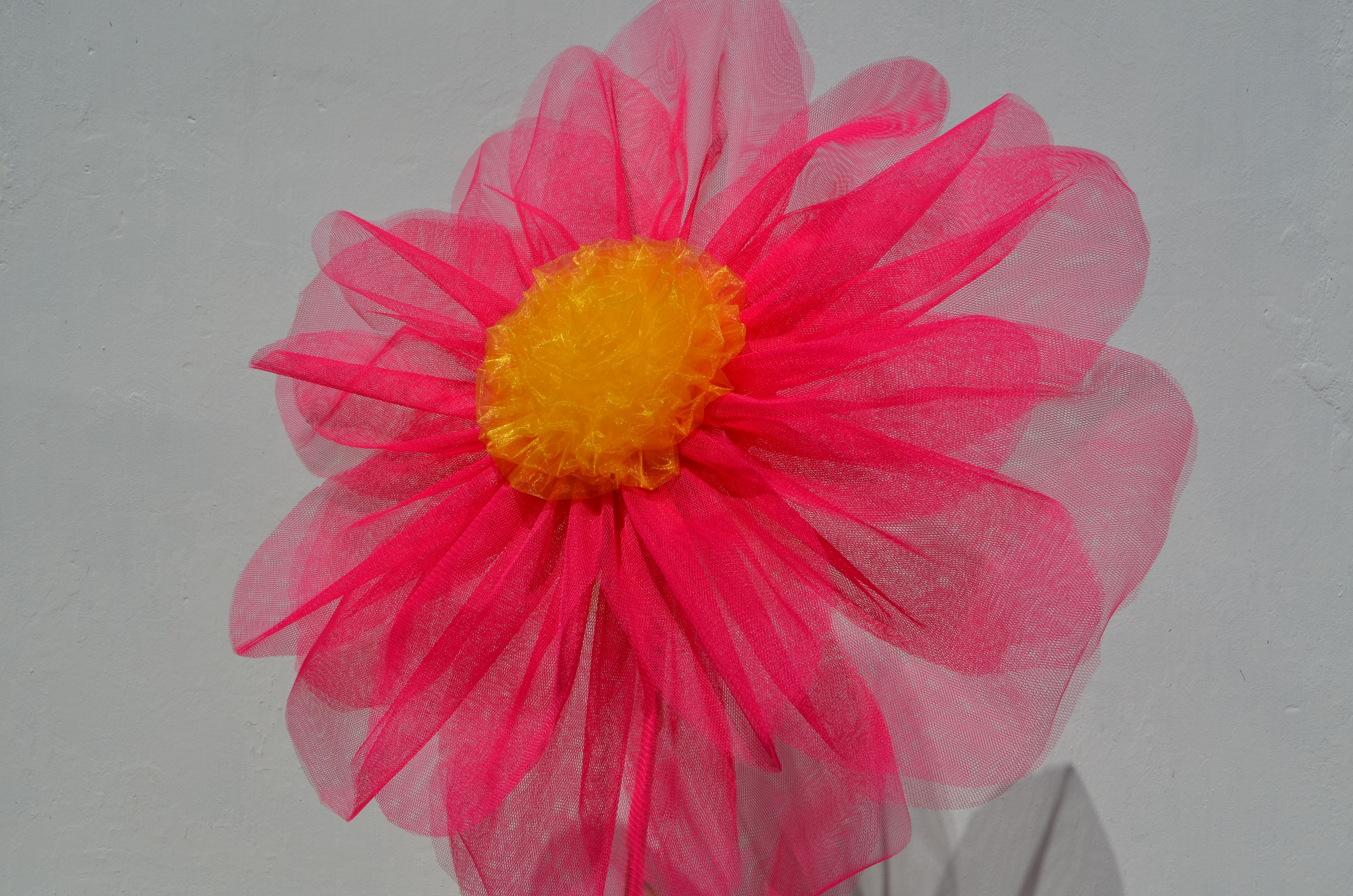 фотозона фатин витрина праздник цветы