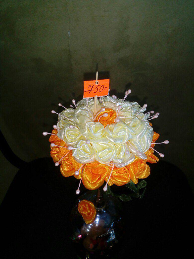 ваза ручная мишка сувенир цветами работа цветок цветы подарок