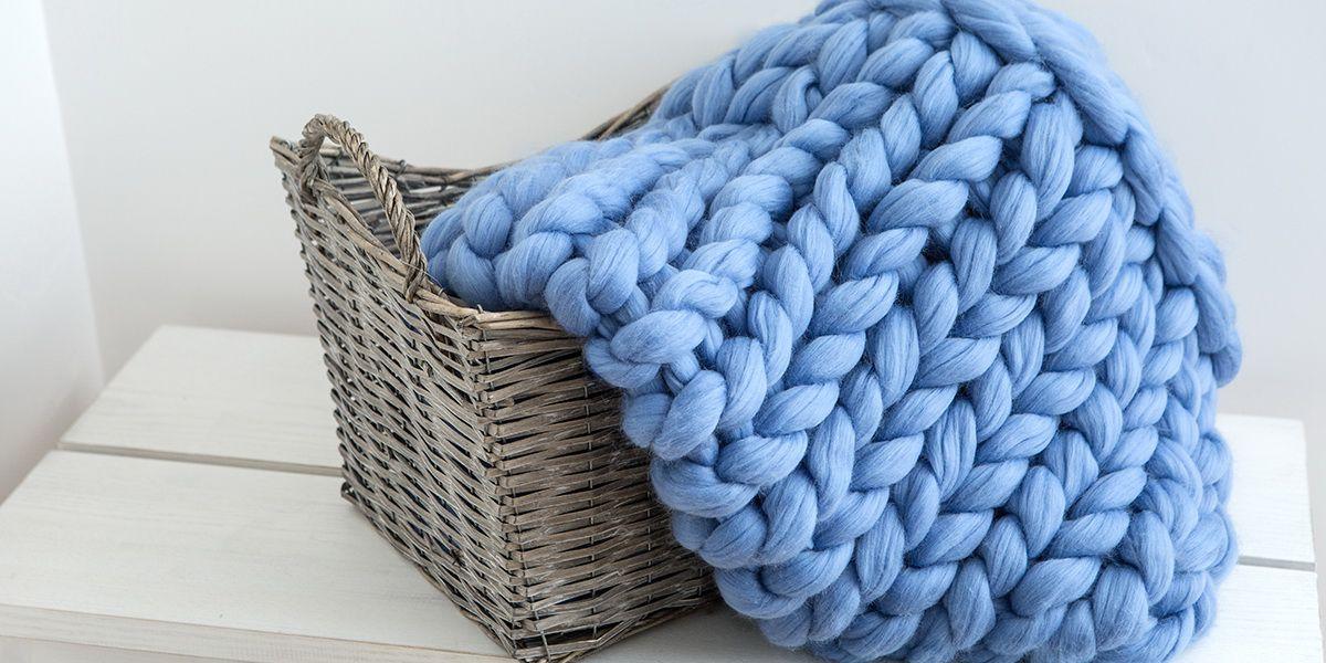 идеи своими толстая вязанное одеяло практичного подарка пряжа руками сделай сам