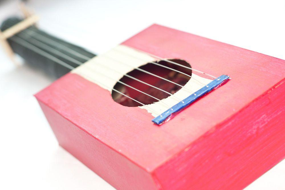 просто дети гитара оригинально картон