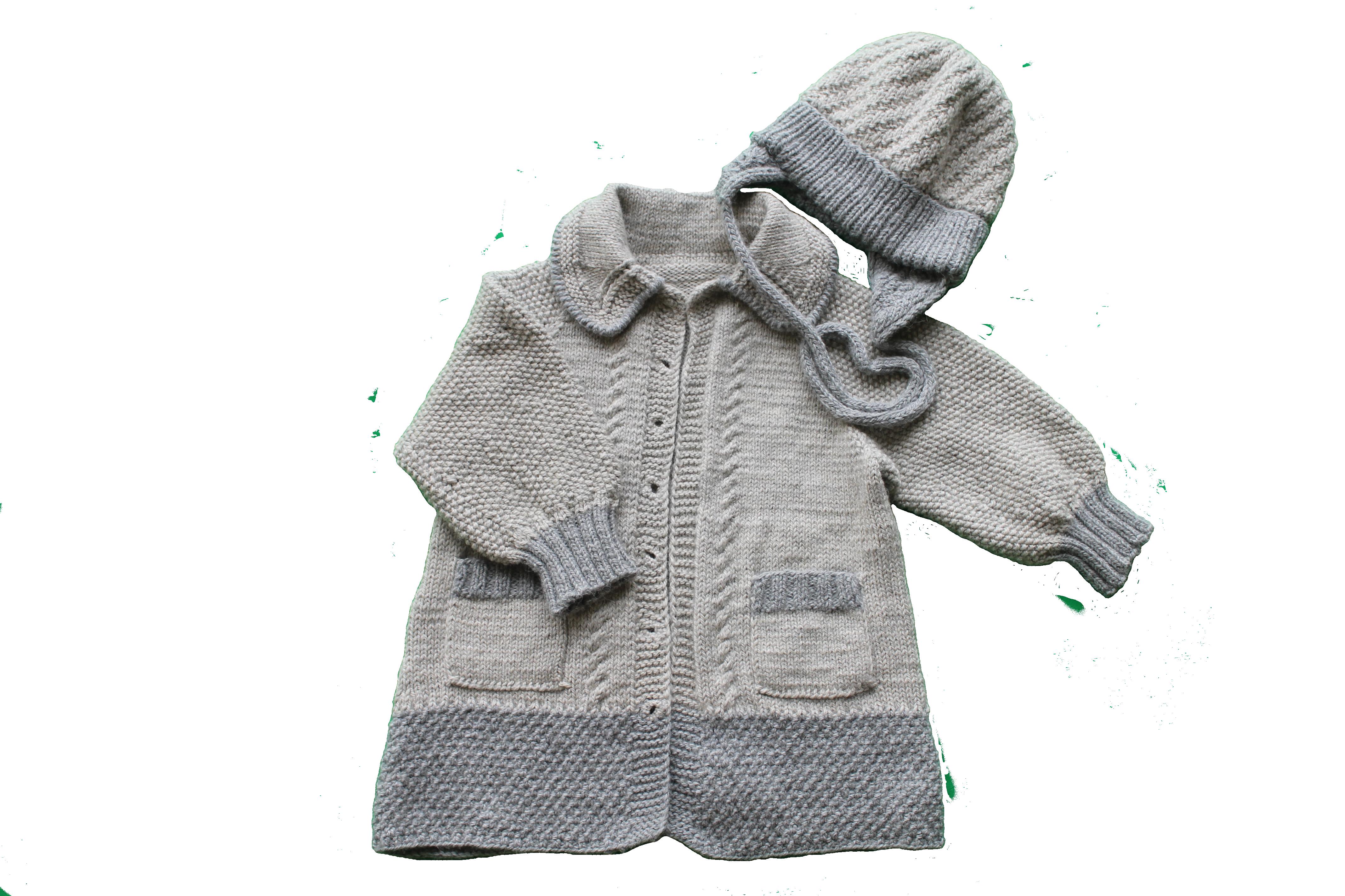 детей кардиган зиму одежда серый женский шапка для комплект выписку девочки детская купить новорожденных вязаный годик