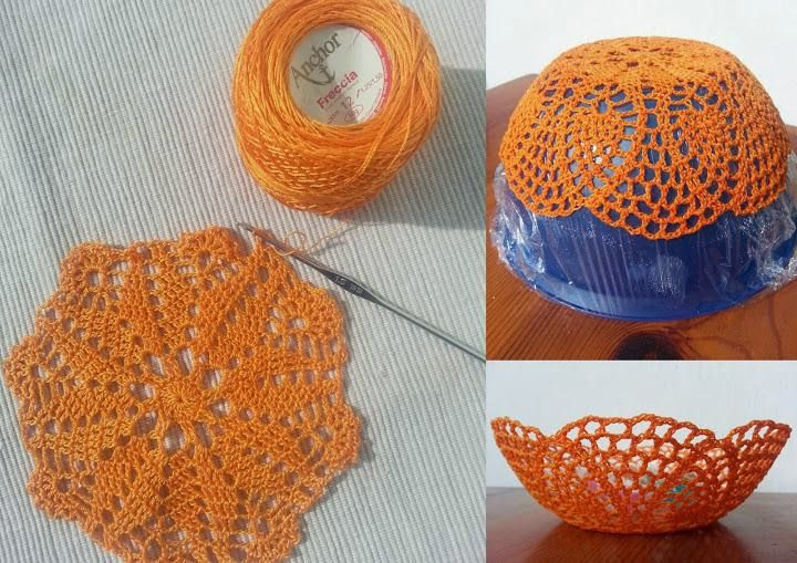 салфеток чаша кружевных изделия кружево интерьер из салфетки