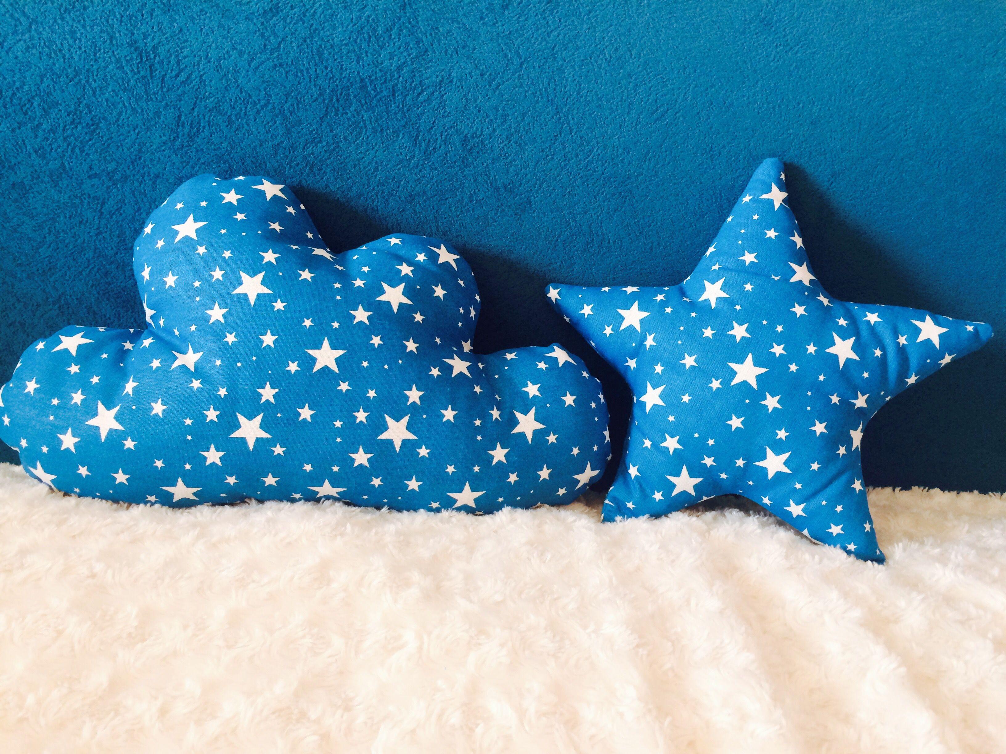 подушка подушказвезда декор подушкаоблако облако бортики звезда детям декордетской подушкаигрушка