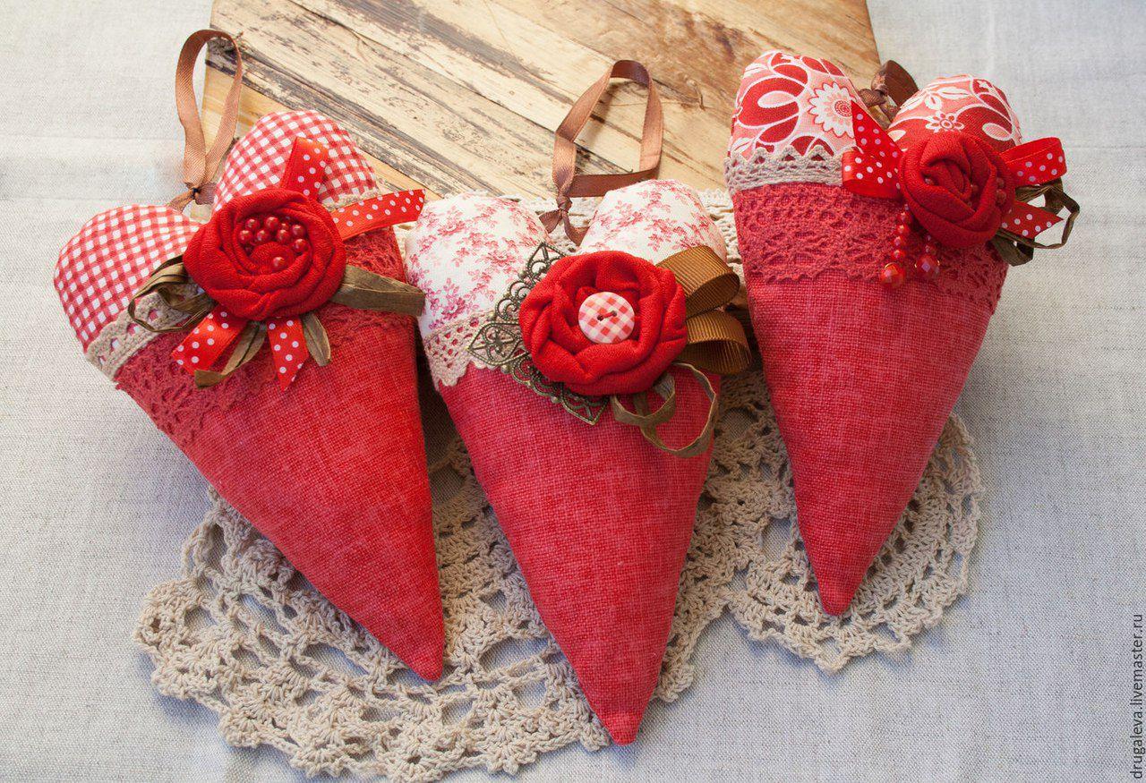 день святого валентина тильда подарки шьем