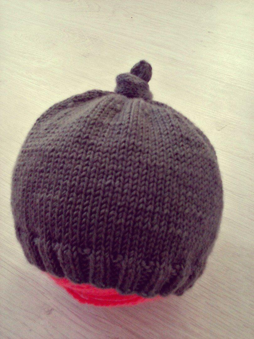 детское вязание шапочка спицы малышам