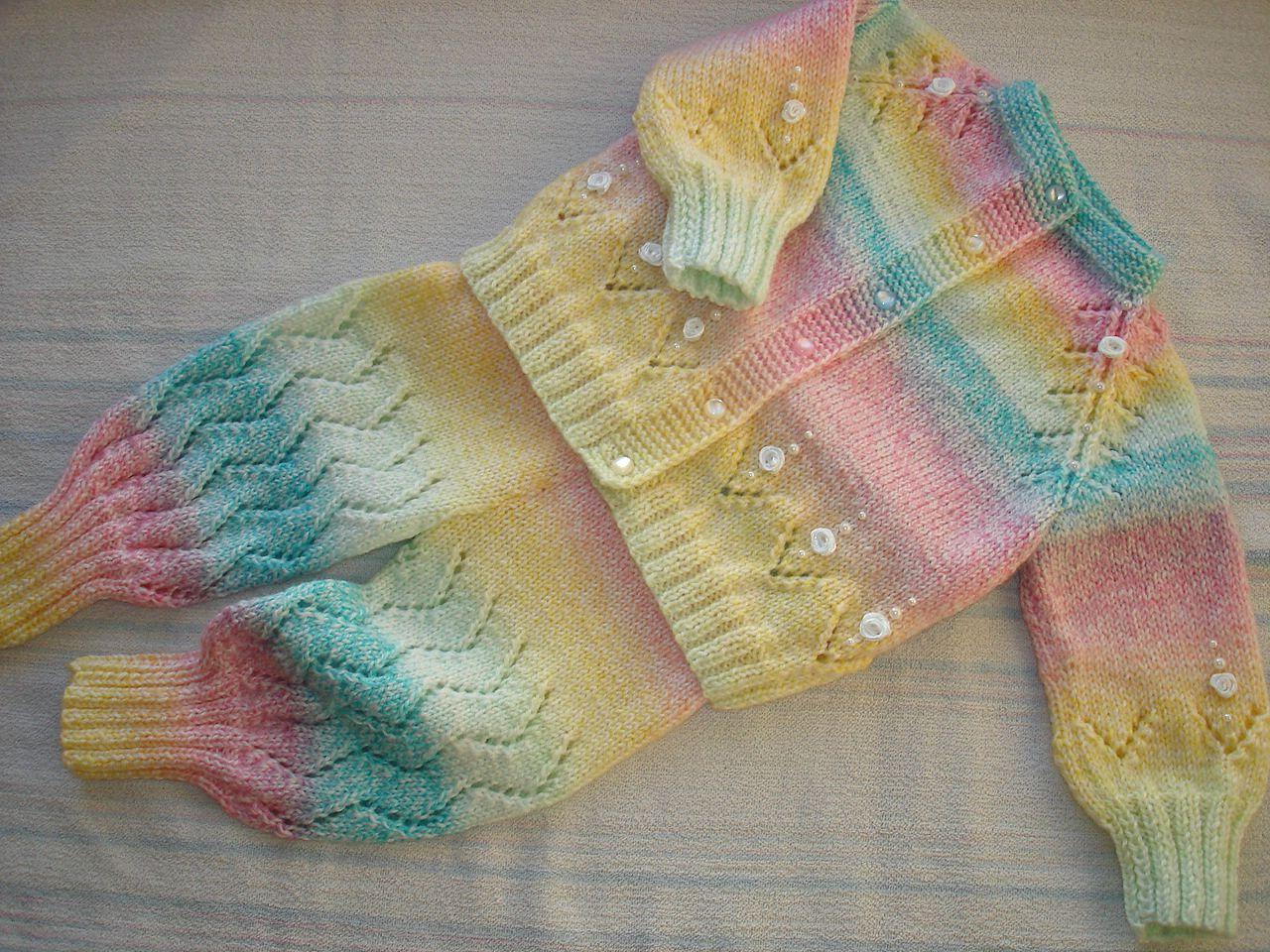 для_девочки спицы детская_одежда вязание_детям костюм_девочке детский_костюм вязание детям