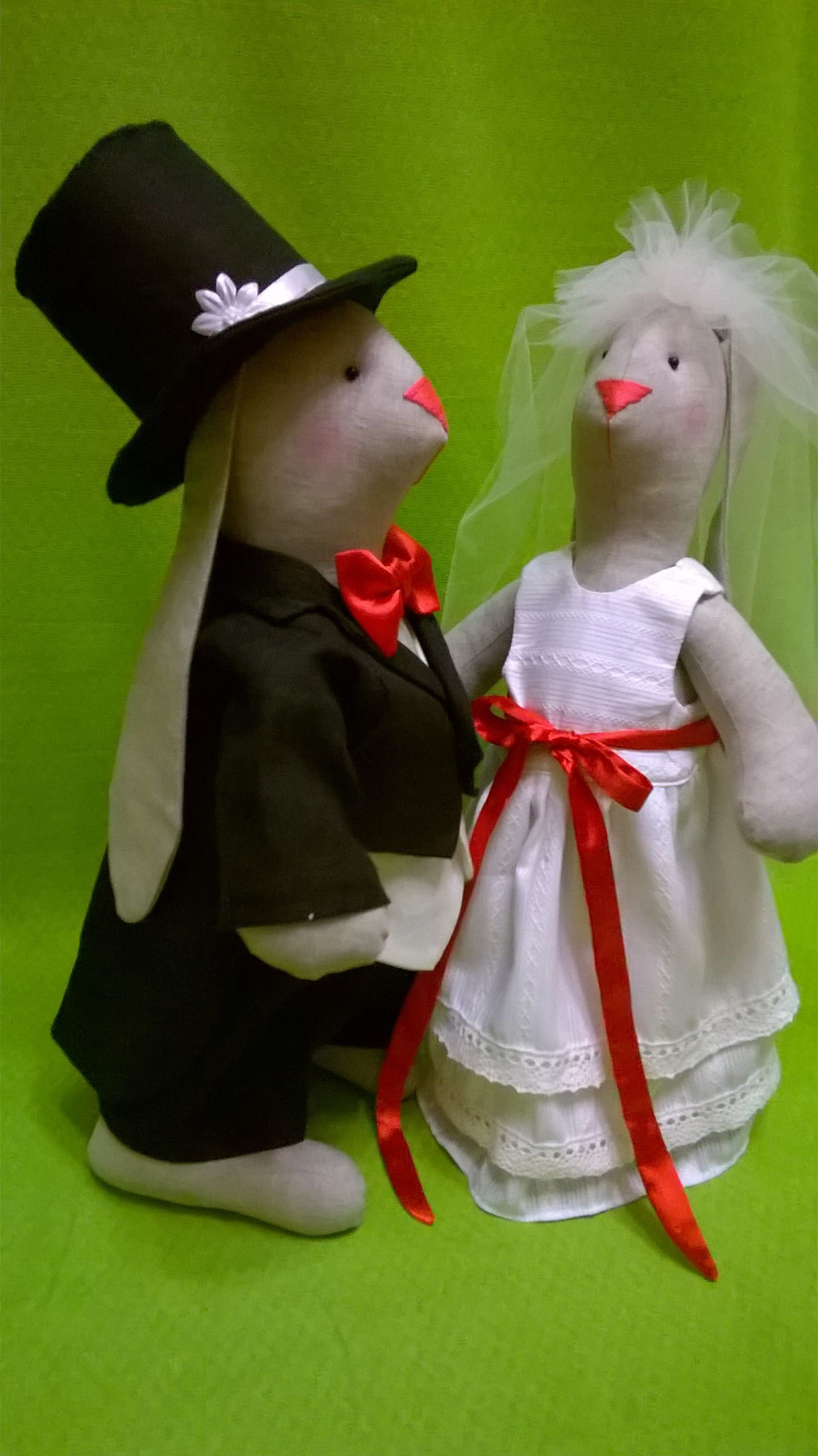 жених кукла свадебные влюбленная зайчонок невеста заяц зайчик и куклы парочка