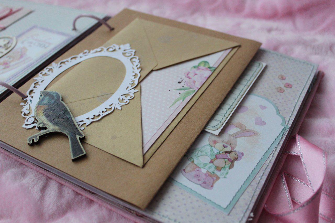 babybook подарокдлядевочки скрапбукинг фотоальбом альбомдетский scrapbook