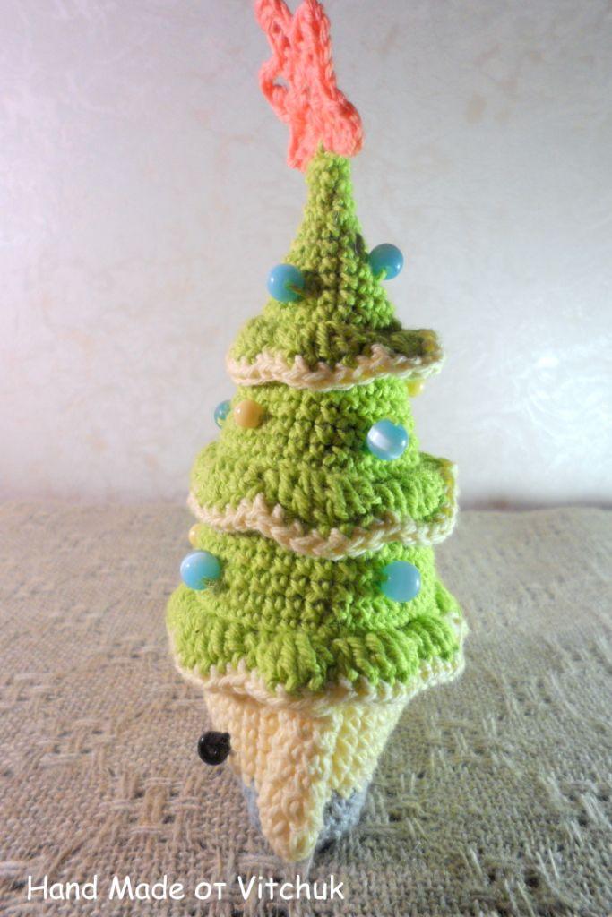 ручнаяработа игрушки рождество новыйгод интерьерныеигрушки handmade вязаныеигрушки