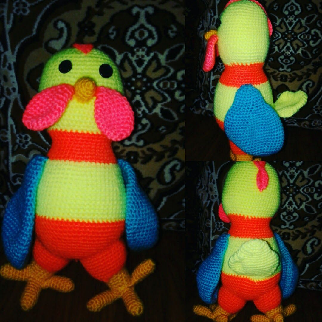 игрушка петух детям мягкий ребёнку петушок ручнаяработа подарок