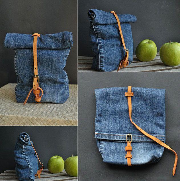 Из старых джинсов своими руками 11