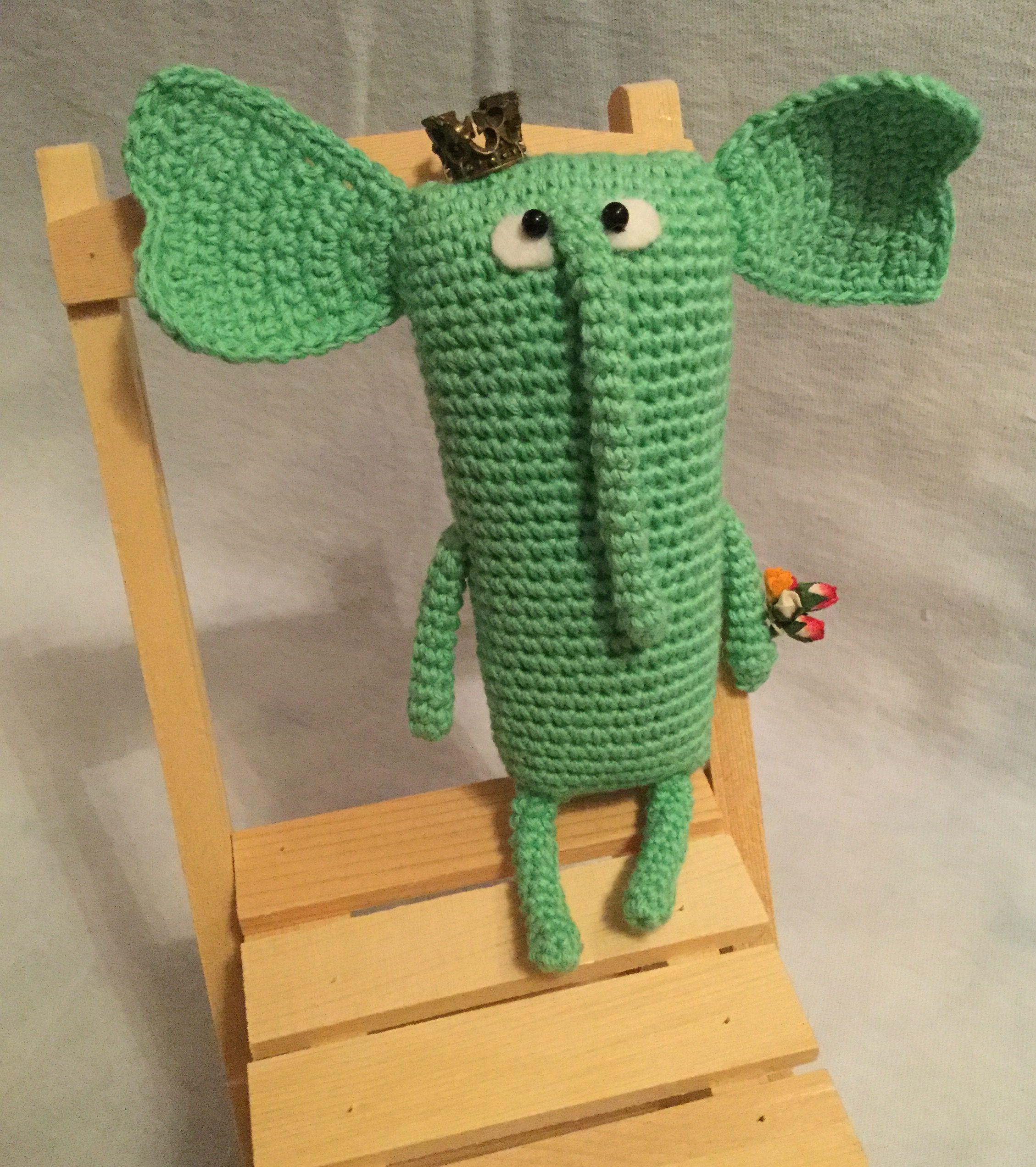 ручнаяработа игрушка слон